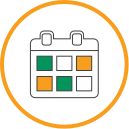 Icon of timely updates about insurance benefits