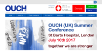 Image of OUCH UK website